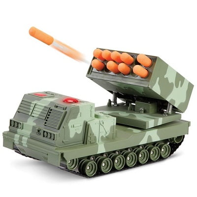 The RC Rapid Fire Rocket Launcher