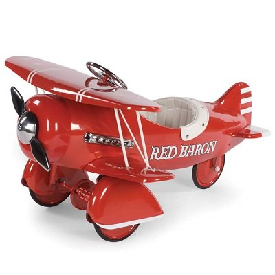 The Red Baron Pedal Biplane 1
