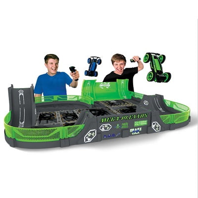 The Glow In The Dark Stunt Car Stadium