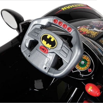 The Young Caped Crusader's Batmobile 2