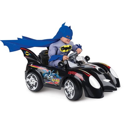 The Young Caped Crusader's Batmobile