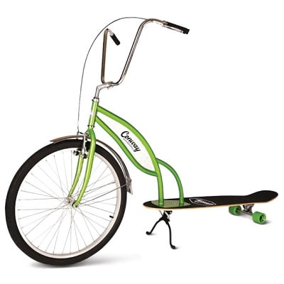 The Longboard Bike