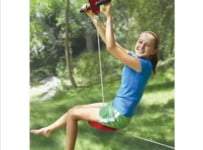 Kids Backyard Zipline