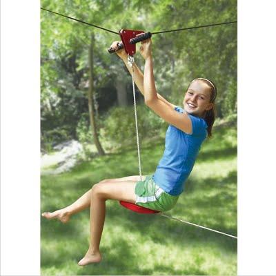 Kids Backyard Zipline