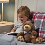 The Storytelling Bear - A plush bear that reads bedtime classics to children