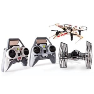 The Battling X-Wing And Tie Fighter Drones - A remote-controlled classic space fighters from Star Wars