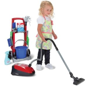 The Childs Miele Vacuum Set - A cleaning playset that helps children develop hygienic habits