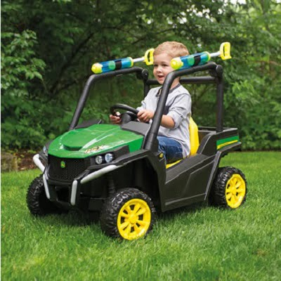 The Off Roading John Deere Ride On Gator