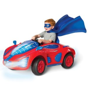The Superhero's Sleek And Stealthy Arachnidmobile - Your kids perfect battery powered ride on mobile