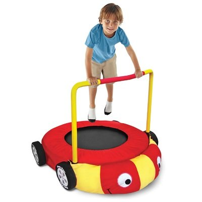 The Plush Racecar Bouncer