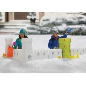 The Snow Fort Building Set - Your kids perfect tools for building castle tower, wall, windows, and doors during winter