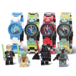 The Children's Star Wars Lego Watch - Allows young jedi master to customize their watchband using LEGO product