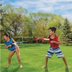 The 70' Range Water Tag Battle Blasters - A water tag set that allows 2 kids to target each other with soaking water