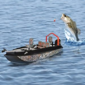The Fish Catching RC Boat - A remote control boat that can catch up to 2lb. Fish