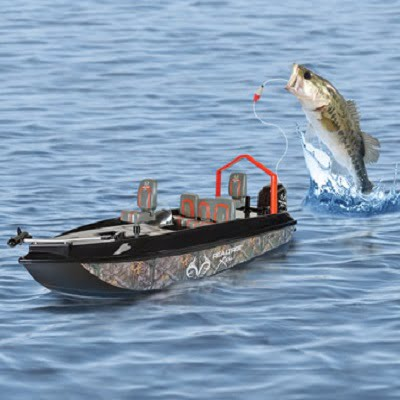 The Fish Catching RC Boat