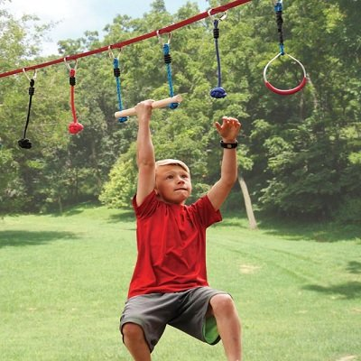 The Junior Ninja's 50' Obstacle Course
