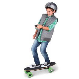 The Self Propelled RC Skateboard - A remote-control electric skateboard that accelerates to a top speed of 12 mph