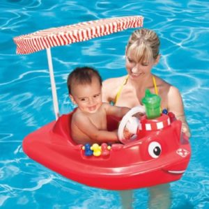 The Tot's Adjustable Tugboat - Your kids perfect vessel specially if you are planning for some pool parties or beach excursions this summer
