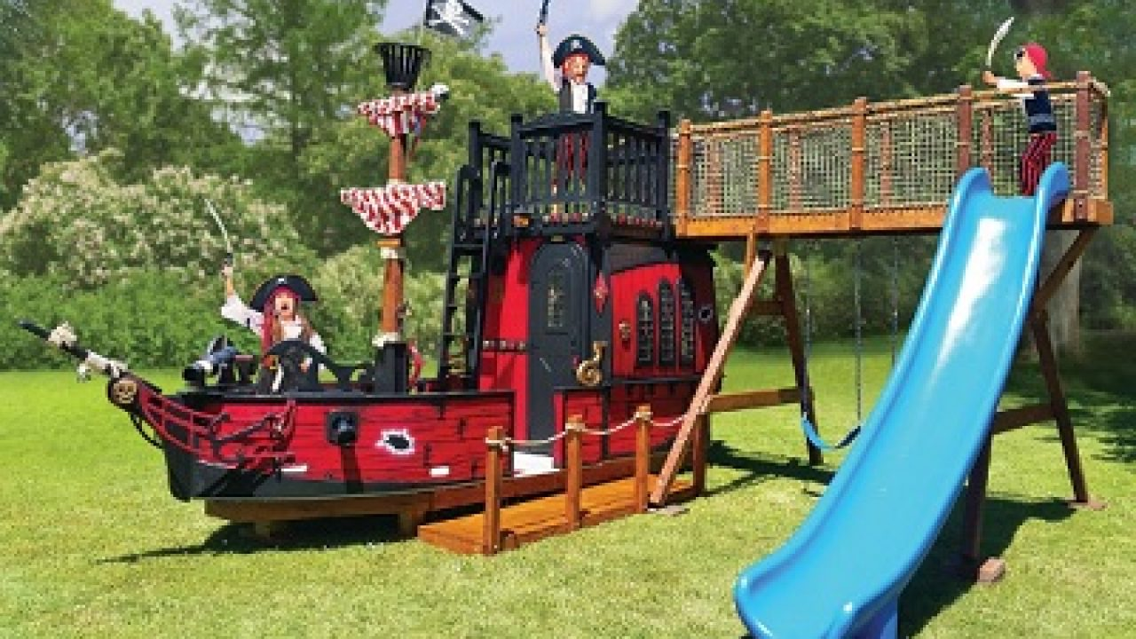 Blackbeards Playhouse Your Kids Uniquely Designed Pirate Ship