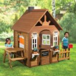 The Children's Country Cottage - Your kids perfect backyard summer cottage playhouse
