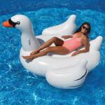 The Hamptons Giant Swan Float - The perfect inflatable swan for kids and adults alike