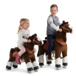 The Ride-On Plush Pony - Your kids real-life galloping horse