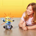 The Obedient Minion Robot - a robot that obeys to your kids hand gestures
