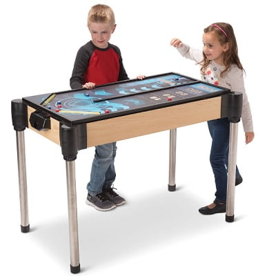 The 5 In 1 Arcade Game Table