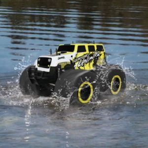 The RC Stunt Monster Truck - four-wheel drive monster stunt truck that conquers any terrain