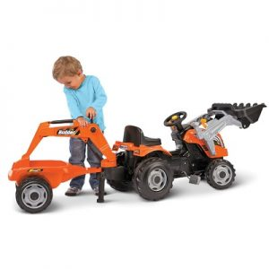 The Ride On Double Digging Earth Mover - Your kids perfect ride-on loader and backhoe