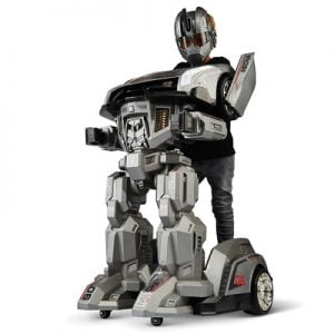 The Ride On Robotic Armor - A ride-on that allows a child to become a robot