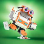 The Robot Creation Kit - A building block kit that enables a child to assemble and program a robot