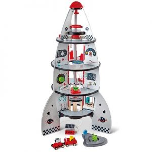 The Space Ship Playset - sends young imaginations off on exciting interplanetary voyages