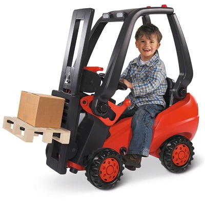 The Working Pedal Powered Forklift 1