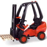 The Working Pedal Powered Forklift - Your kids perfect ride-on version of a Linde 394 forklifts