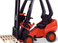The Working Pedal Powered Forklift