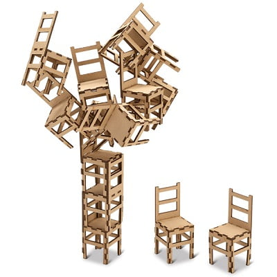 The MOMA Stacking Chair Game 1