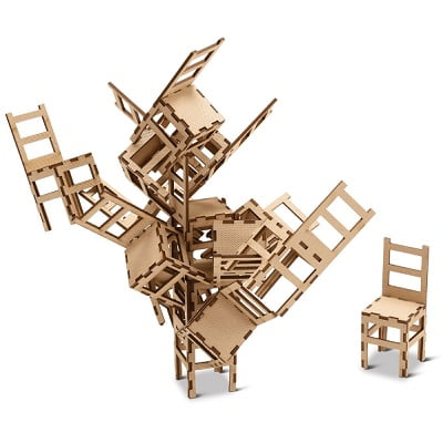 The MOMA Stacking Chair Game