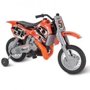 The Motocross Champion Ride On Bike - Allows children to pretend they are racing through an off-road dirt course