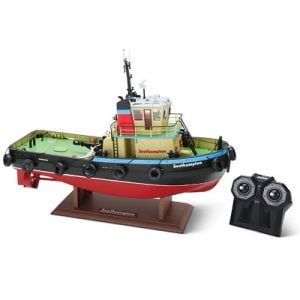 The Remote Control Southampton Tugboat - A 1:36 scale remote control tugboat equipped with water-cooled electric motors