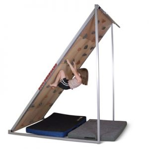 The Home Boulderboard - delivers a full-body workout as climbers hone their skills