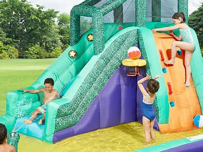 The Slide, Slap, And Splash Water Playground 1