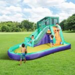 The Slide, Slap, And Splash Water Playground - The perfect aquatic playground for kids this summer
