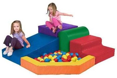 SoftZone Primary Climber With Ball Pool Playcenter - The perfect climber for kids