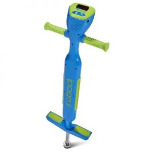The Flybar Audible Counting Pogo Stick - The world's first pogo stick that tracks jumps