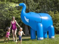 The 7 Foot Tall Water Spraying Pachyderm