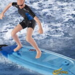 The Remote Control Surfer - with self-correcting feature to keep the surfer safe and level every time