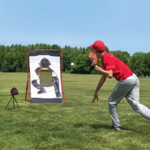 The Speed Sensing Pitching Trainer - With speed detector to help kids hone their pitching skills