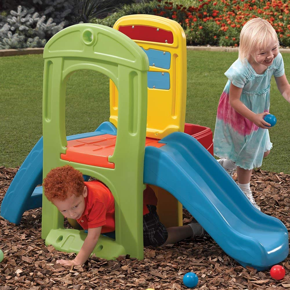 Step2 Play Ball Fun Climber With Slide For Toddlers 1