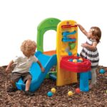 Step2 Play Ball Fun Climber With Slide For Toddlers - provides toddlers and preschoolers a never ending adventure